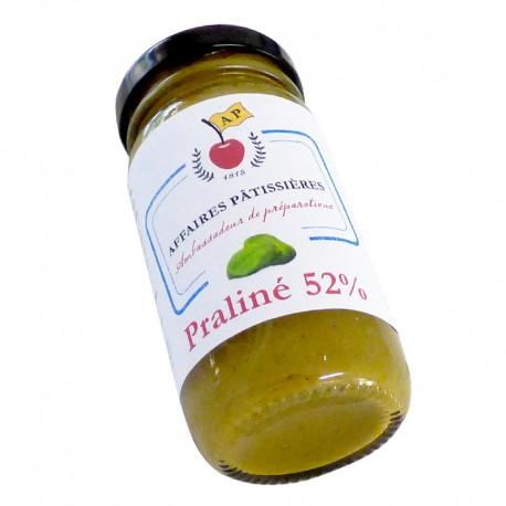 Praliné 52% pistache