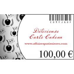 E-Carte Cadeau 100€ Affaires pâtissières
