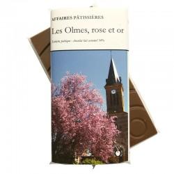 Chocolate bar Les Olmes - Milk caramel 34%