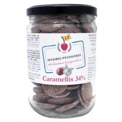 Caramellis lait caramel 34% bocal XL