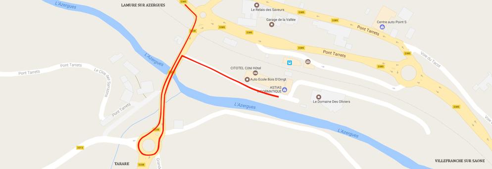 Localisation Astias Informatique aux Ponts Tarrets