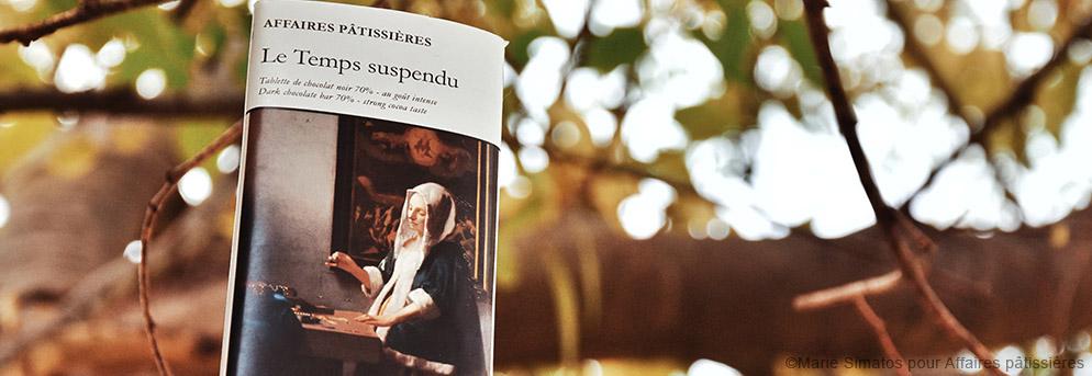 Le temps suspendu inspiré de Vermeer - Affaires pâtissières
