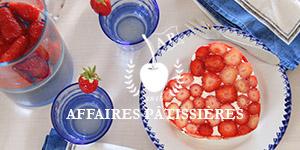Recette pas à pas Coeurs de fraisiers Affaires pâtissières