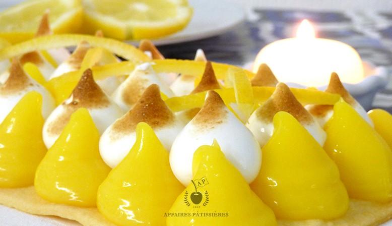 Coffret tarte citron meringuée prête à cuisiner