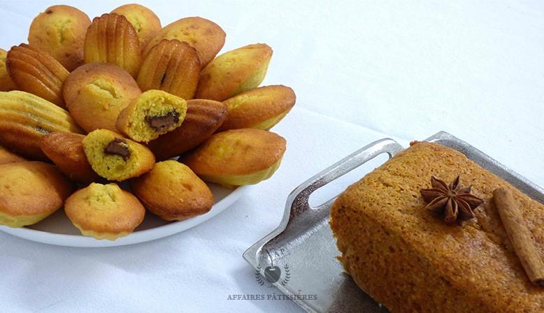 Coffret l'Heure du thé avec madeleines gianduja et pain d'épices