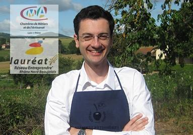 Emmanuel Allasia fondateur et lauréat Réseau Entreprendre Rhône